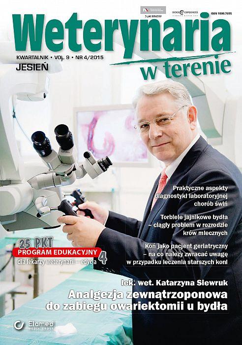 Weterynaria w Terenie wydanie nr 4/2015