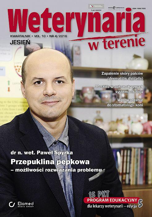 Weterynaria w Terenie wydanie nr 4/2016