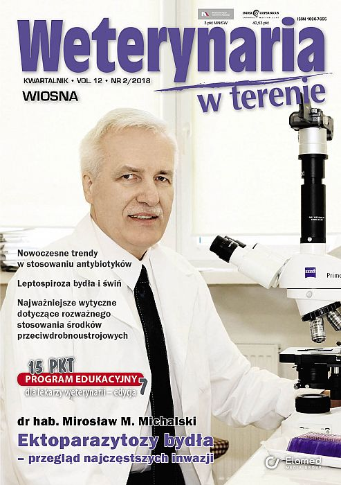 Weterynaria w Terenie wydanie nr 2/2018