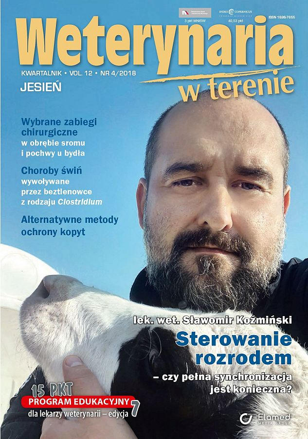 Weterynaria w Terenie wydanie nr 4/2018