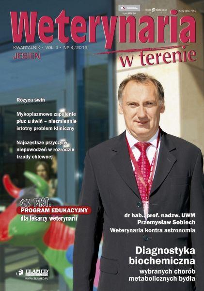 Weterynaria w Terenie wydanie nr 4/2012
